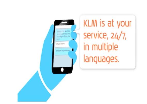 KLM Soc Media